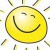 happy face sun